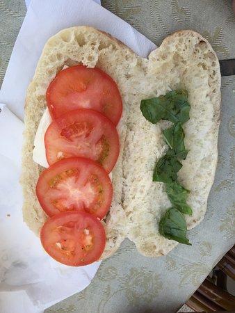 Bar Il Gabbiano : sandwich