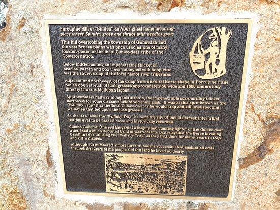 Gunnedah, Australia: Information about Porcupine Hill