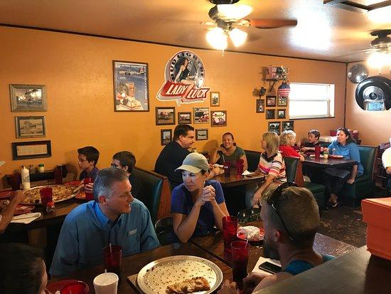 Sebring, FL: Galati's side dining room