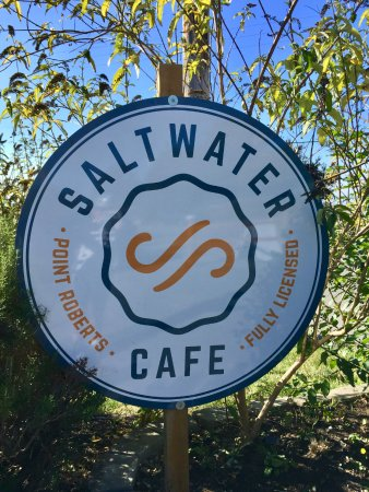 Point Roberts, WA: Saltwater Cafe