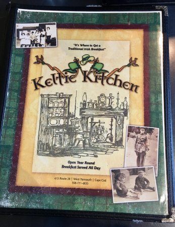 Keltic Kitchen Cape Cod Menu