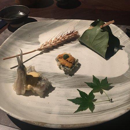 Fine Japanese restaurant against splendid seaview