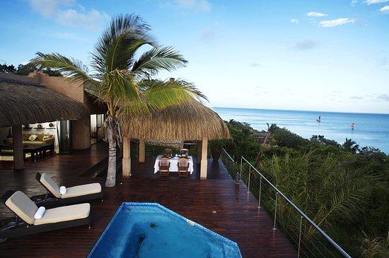 Bazaruto Island, Mozambique: Deluxe Sea View Pool Villa Deck