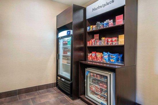 Γιακίμα, Ουάσιγκτον: Hotel vending area