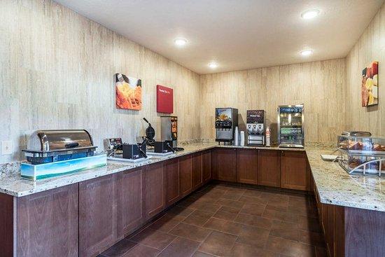 Yakima, واشنطن: Breakfast area