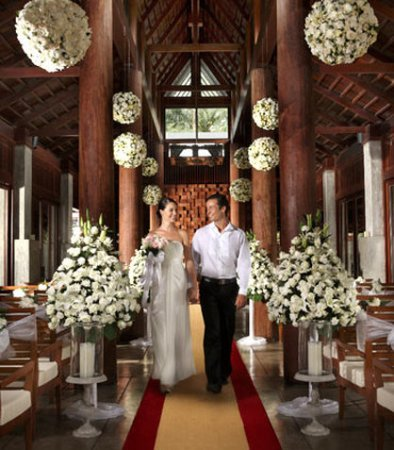JW Marriott Phuket Resort & Spa: Wedding Chapel– Western Style