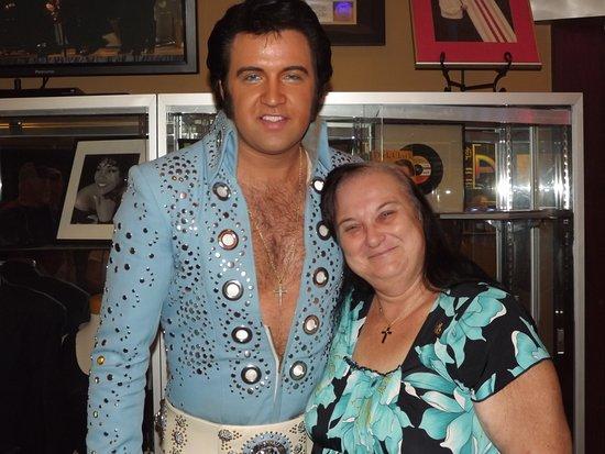 Legends In Concert: When Dean Is away our guest Elvis Travis Powell