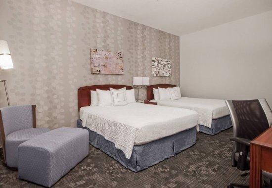 Palmdale, كاليفورنيا: Queen/Queen Guest Room
