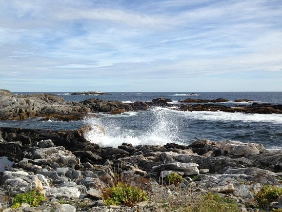 Isle aux Morts, Canada: The trail offers a wonderful walk on a sunny day