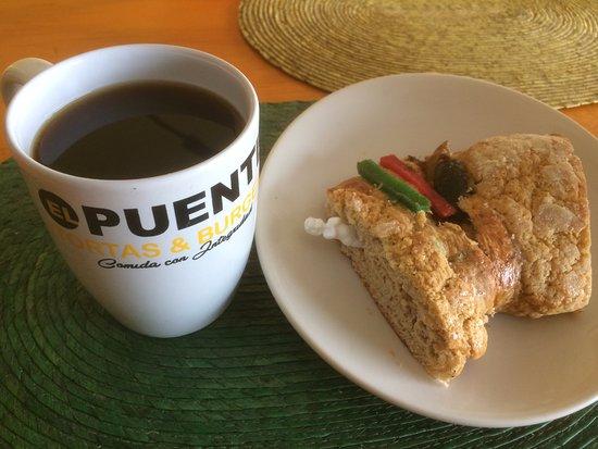 Jiutepec, Mexico: cafecito con rosca de  reyes  !