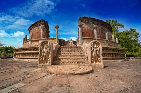 Tour privato: Polonnaruwa e Minneriya
