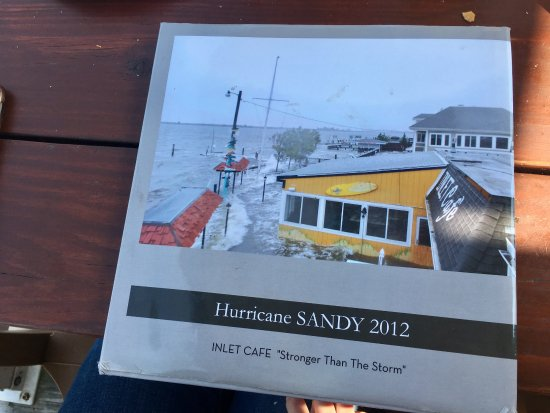 Highlands, NJ: Be sure to ask to see their photo book while you wait for your order.