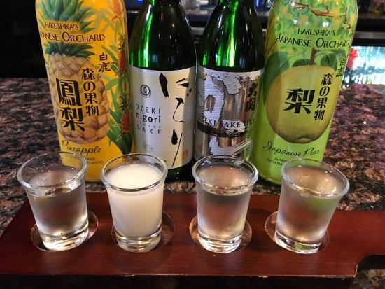 Grand Island, NE: Sake Shot Set