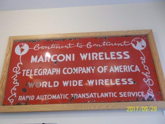 North Chatham, MA: Marconi Wireless