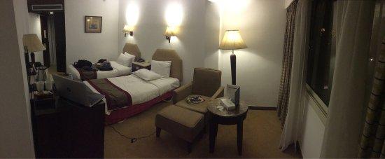 Baron Hotel Heliopolis Cairo: Chambre double.