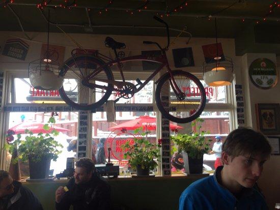 New Belgium Ranger Station Restaurant : Looks like my first apartment...AWW!