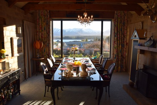 Lake Tekapo Lodge: breakfast