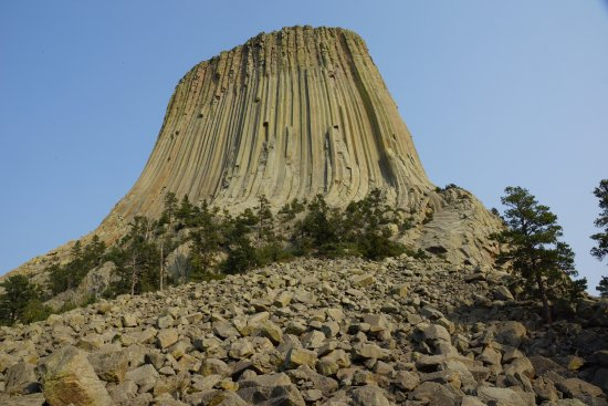 devils tower デビルズ タワー devils tower national monumentの写真