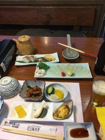 Asahi, Japón: ふぐ刺身