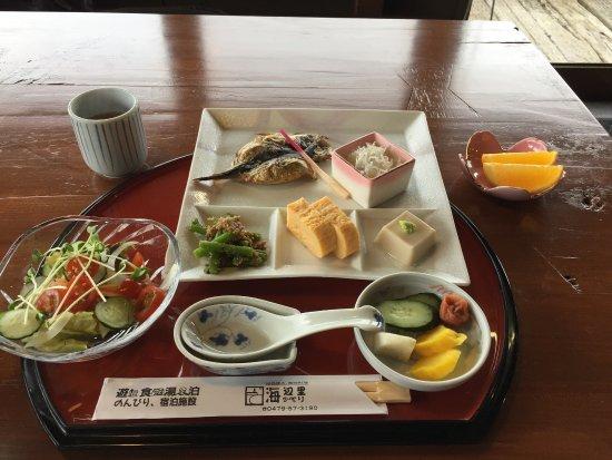 Asahi, Japón: 朝食 他に大きなおじやが付きます