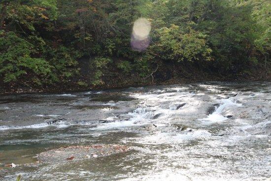 Eniwa, Japón: 白扇の滝