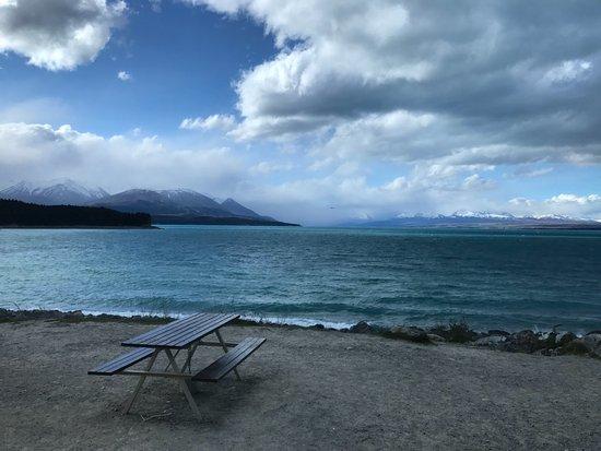 Twizel, Nieuw-Zeeland: outside seating
