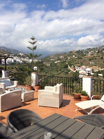 Hotel La Casa: The lovely terrace