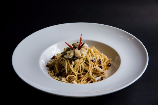 Angel Hair Spaghetti Aop With Italian Sausage Picture Of Seventh