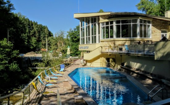 Kostenets, Bulgaria: Mineral aquatonic outdoor pool.