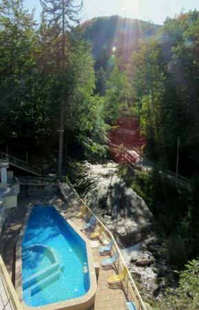 Therma Kostenets: Mineral aquatonic outdoor pool.