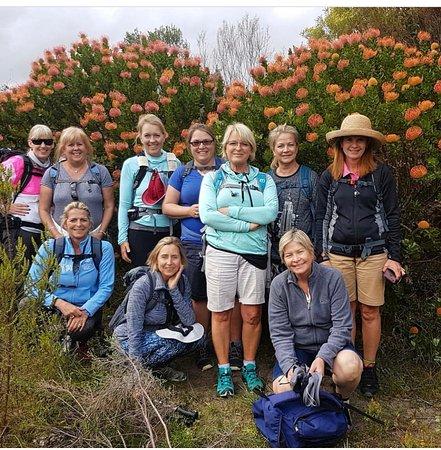 โอเวอร์เบิร์ก, แอฟริกาใต้: Our amazing group of 10 ladies.....this is the start of many trails to come.