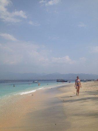 Gili Islands, Indonezja: Gili Trawangan, Beach View