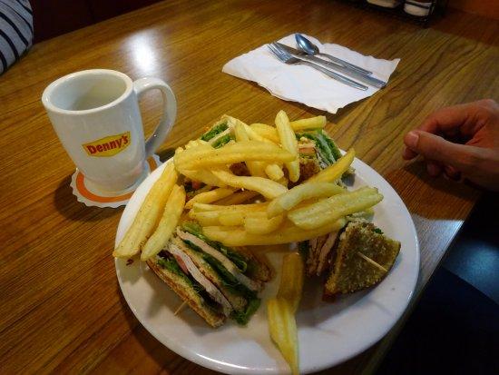 Gustine, CA: club sandwich