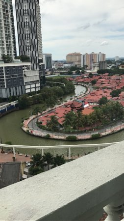 The Majestic Malacca: View from room 1004