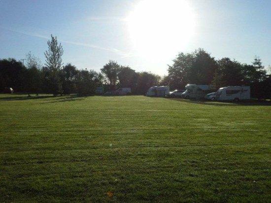 Craven Arms, UK: caravas, campervans and motorhomes
