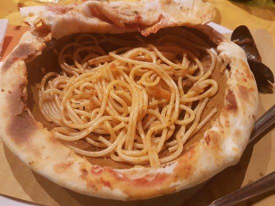 Arluno, Ιταλία: Spaghetti scoglio (avanzati).