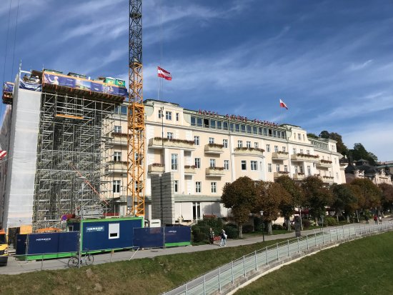Hotel Sacher Salzburg: Renovations till March 2018
