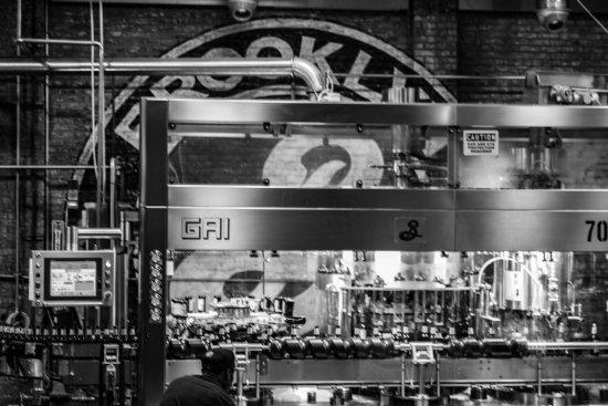 Brooklyn Brewery: Flaschenabfüllung