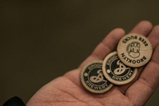 Brooklyn Brewery: Coins für Bier