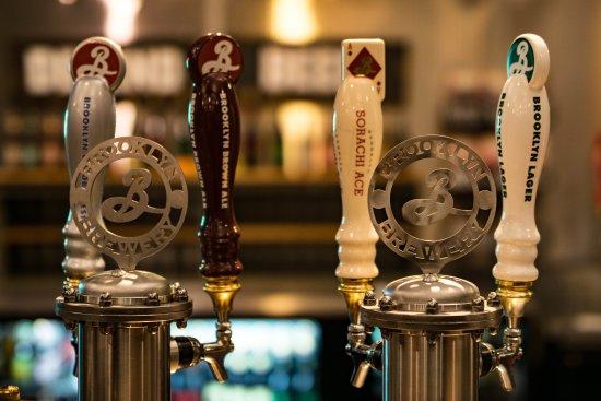Brooklyn Brewery: Die Zapfhähne
