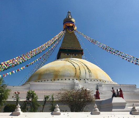 Picture Of Boudhanath Stupa, Kathmandu