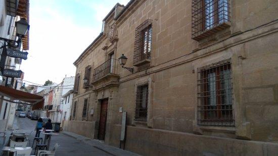 Huete, Spain: vista del edificio