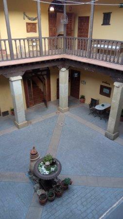 Huete, إسبانيا: patio interior