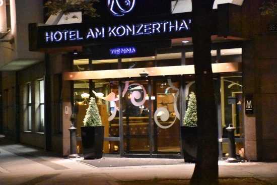 Hotel Am Konzerthaus Vienna MGallery by Sofitel: Hoteleingang