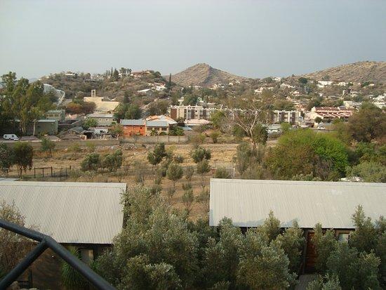 Aussicht Von Der Terrasse Auf Klein Windhoek Picture Of The Olive