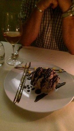 Tarragon: Then special chocolate dessert