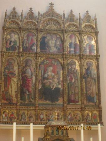Cattedrale di Sant'Emidio : Polittico realizzato dall'artista Carlo crivelli