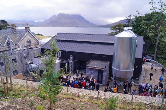 The Isle of Raasay Distillery has arguably the best views from any Scottish Distillery.