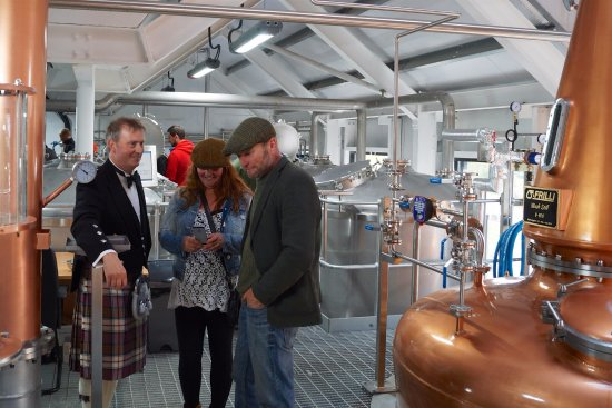 Visit the Isle of Raasay Distillery for a guided tour of the distillery with whisky tasting.