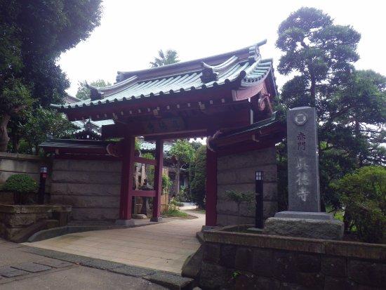 Fujisawa, Japan: 赤門はこの門のことです